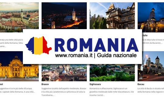 Romania.it | realizzazione portale turistico