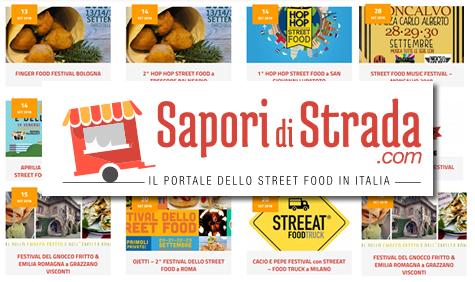 Sapori di Strada, portale dello Street Food